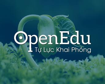 OpenEdu Initiative / Sáng kiến OpenEdu